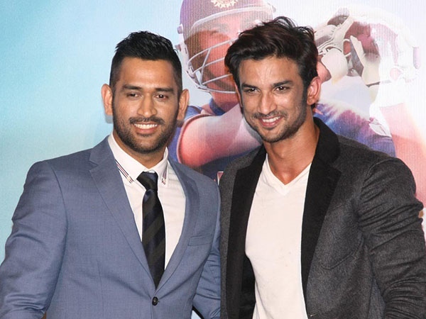 M S Dhoni and Sushant Singh Rajput's new promo