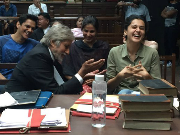Amitabh Bachchan and Taapsee Pannu's 'PINK' has a smashing first week at the box office!