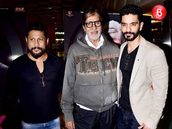 PICS: Shoojit Sircar, Amitabh Bachchan and team 'PINK' at the film's Delhi premiere