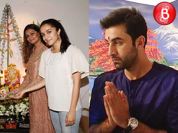 PICS: Ranbir Kapoor, Shraddha Kapoor and other celebs celebrate Ganesh Chaturthi