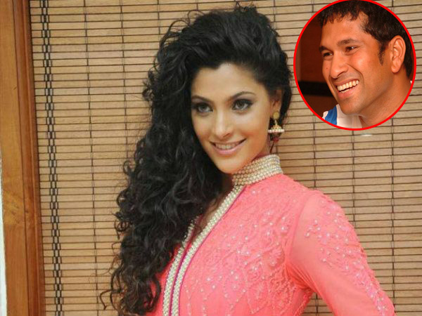 This incident proves, Saiyami Kher is Sachin Tendulkar's biggest fan ever!