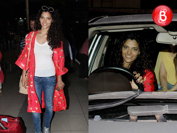 PICS: Saiyami Kher attends the screening of 'Mirzya' sans co-star Harshvardhan Kapoor