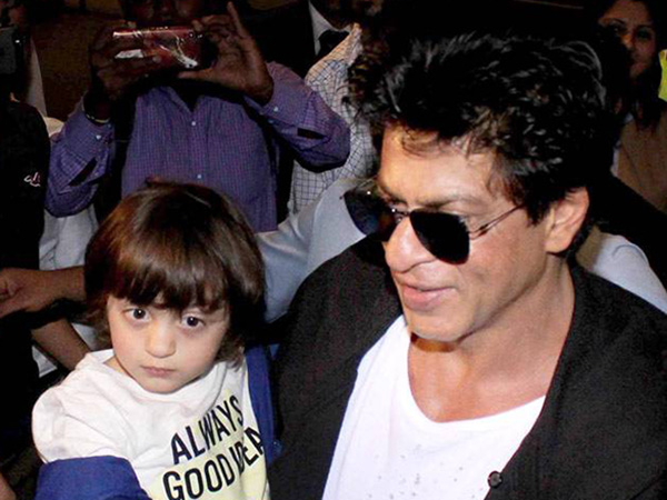 ADORABLE! This is how Shah Rukh Khan and AbRam are doing their bit for the world