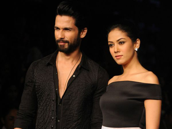 So this is why Shahid Kapoor and Mira Rajput still have to name their baby daughter