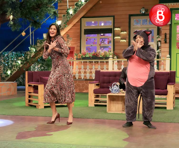 Katrina Kaif and Kiku Sharda