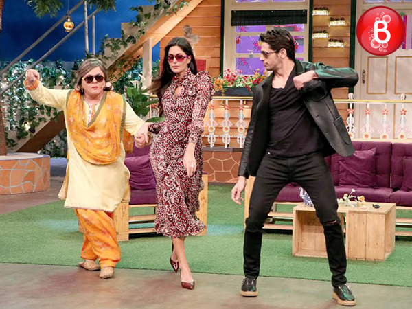 PICS: Katrina Kaif and Sidharth Malhotra groove on 'Kala Chashma' on Kapil Sharma's show