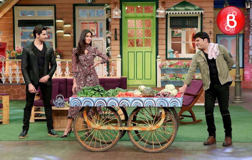 Katrina Kaif, Sidharth Malhotra and Kapil Sharma