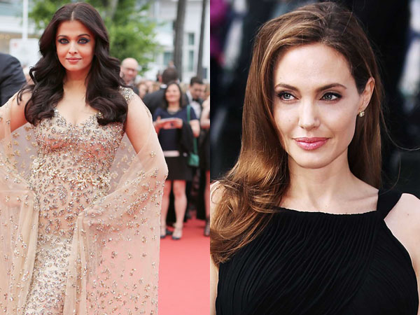 WATCH: Aishwarya Rai Bachchan beats Angelina Jolie in a survey