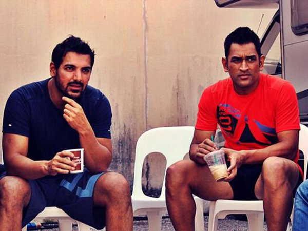 Did you know MS Dhoni was earlier a part of a Bollywood film starring John Abraham?