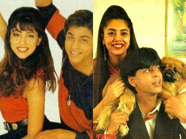 These candid and rare pictures of Shah Rukh Khan and Gauri Khan are super cute
