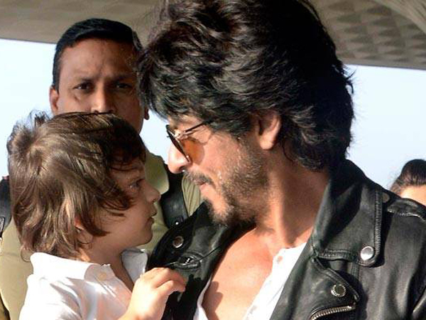 This quiet moment between Shah Rukh Khan and AbRam will make your heart melt