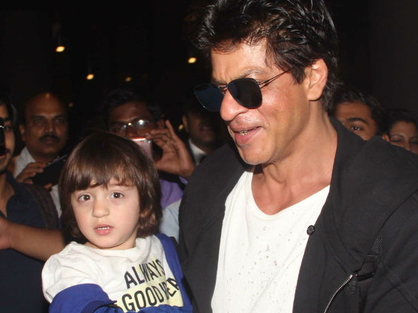 WATCH: Shah Rukh Khan and AbRam just had a gala time dancing on the streets of Lisbon!