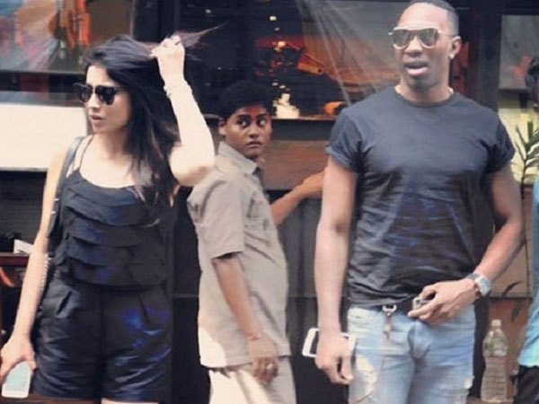 Shriya Saran finally opens up about her lunch date with cricketer Dwayne Bravo