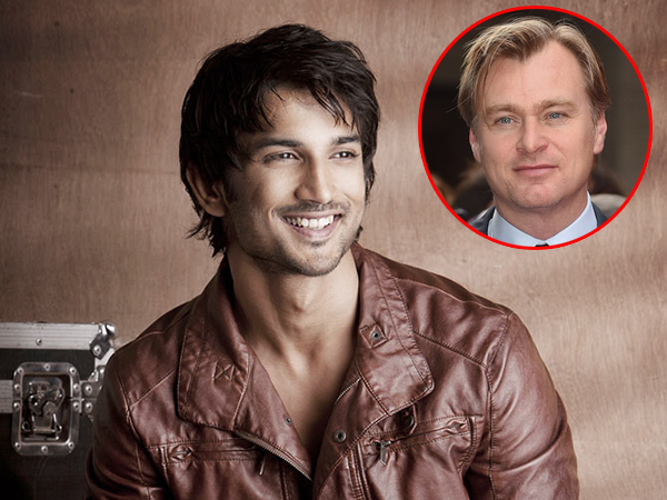 Sushant Singh Rajput wants to work with Oscar winning filmmaker Christopher Nolan