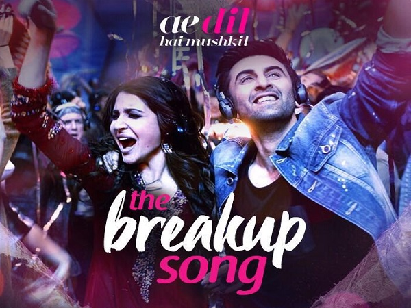 Get ready to celebrate breakups with #TheBreakupSong from 'Ae Dil Hai Mushkil'