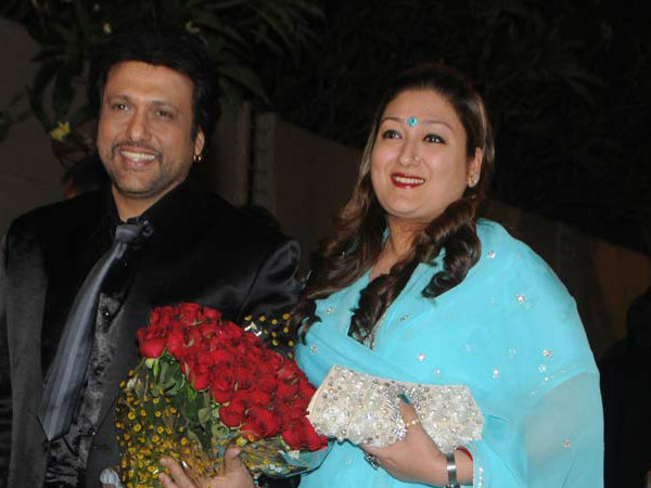 Govinda and wife Sunita look adorable pouting in this Karwa Chauth selfie