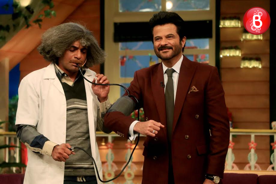 Anil Kapoor and Sunil Grover