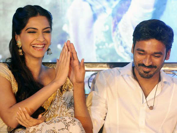 Sonam Kapoor all set for her Tamil debut opposite Dhanush