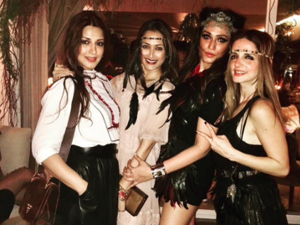 In Pictures: Sussanne Khan's birthday bash was a close-knit family and friends affair
