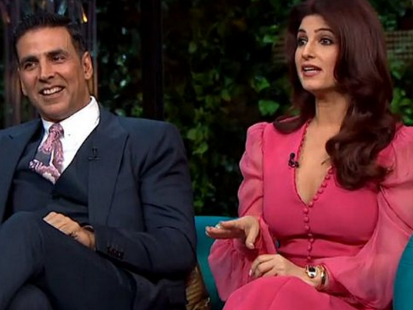 WATCH: Akshay Kumar singing his heart out for wifey Twinkle Khanna is lovely! | Bollywood Bubble