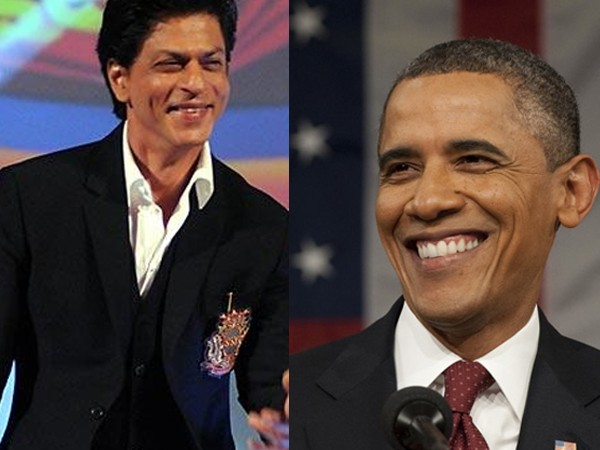 LOL! Obama utters the famous 'DDLJ' dialogue and Shah Rukh Khan has an epic reaction