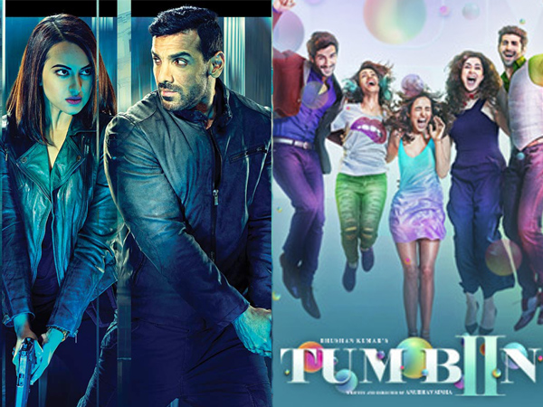 'Force 2' fares well at the box office while 'Tum Bin 2' falls flat on day 1