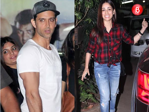 PICS: Hrithik Roshan, Yami Gautam and others spotted at a suburban theatre