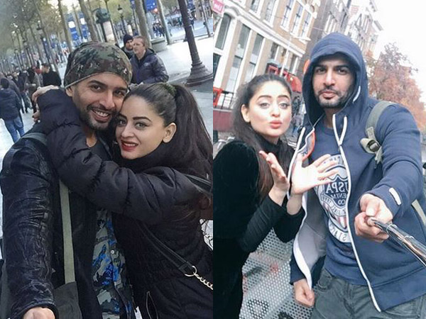 These holiday pictures of Jay Bhanushali and Mahhi Vij are super adorable