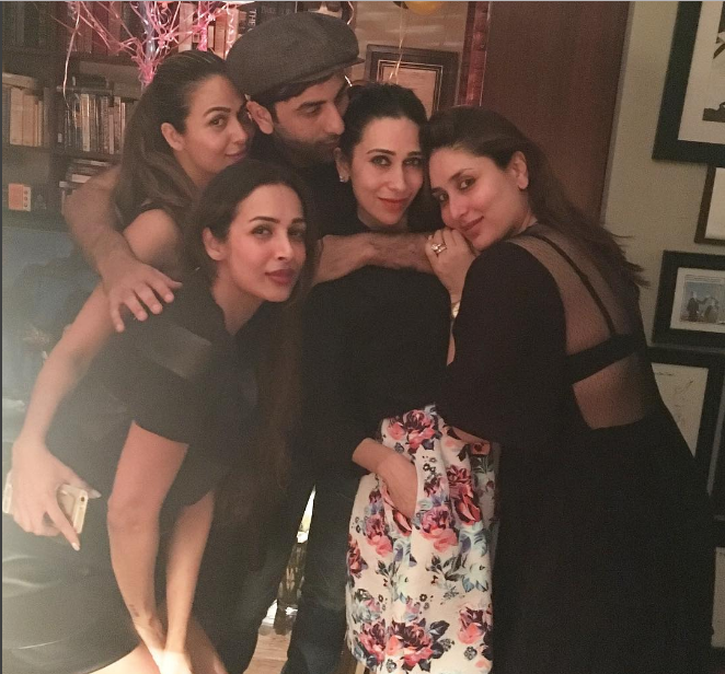 Karisma Kapoor and friends!