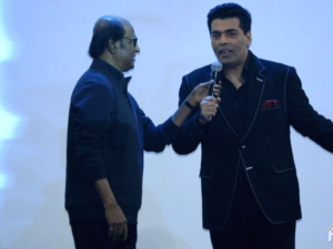 Karan Johar and Rajinikanth's hilarious rapid fire round at '2.0' first look launch is a must watch
