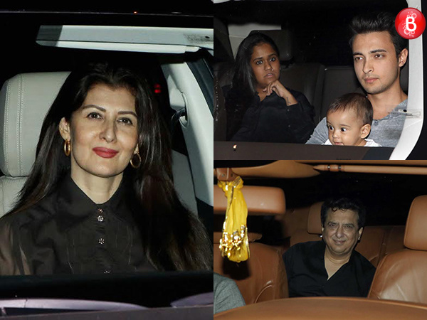 Sangeeta Bijlani arrives at Galaxy Apartments to celebrate Salim Khan's birthday with family
