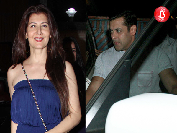 In Pictures: Salman Khan SPOTTED partying with ex-flame Sangeeta Bijlani