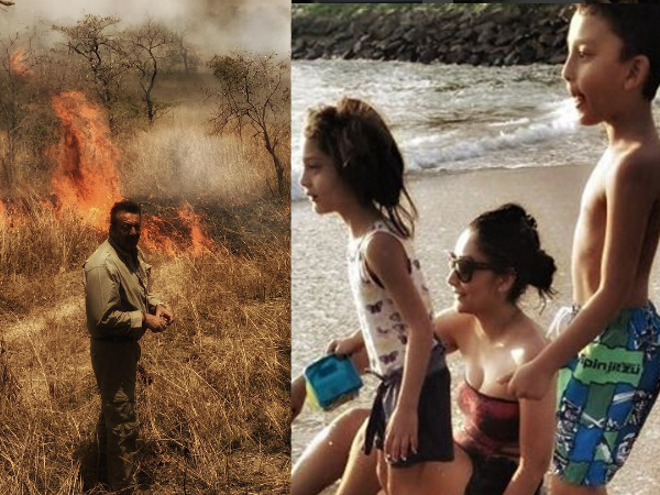 In Pictures: Sanjay Dutt and family having the best time in Sri Lanka!