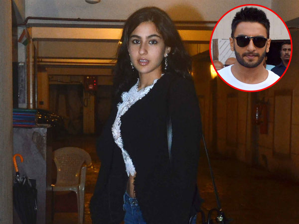 Saif Ali Khan's daughter Sara Ali Khan to debut opposite Ranveer Singh in 'Gully Boy'?