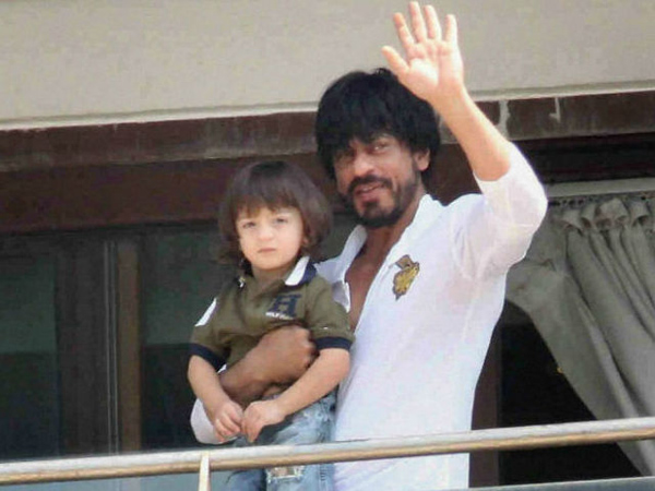 Shah Rukh Khan and AbRam planting a tree together is the cutest thing you will see today!