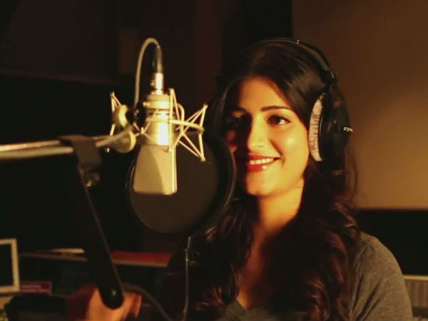 Shruti Haasan to come up with her new single