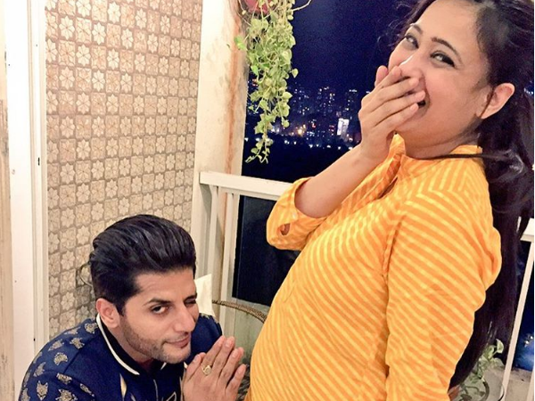 Sweet! Karanvir Bohra shares an adorable picture with soon-to-be mommy Shweta Tiwari