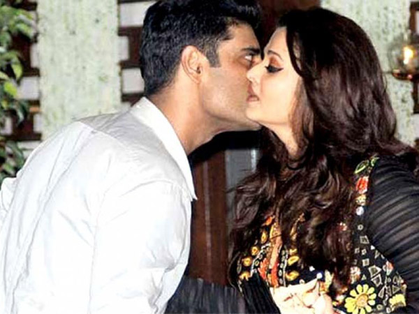 This picture of Sikandar Kher kissing Aishwarya Rai Bachchan will make you jealous!