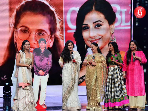 Woah! Vidya Balan reunites with 'Hum Paanch' star cast during Zee silver jubilee celebrations