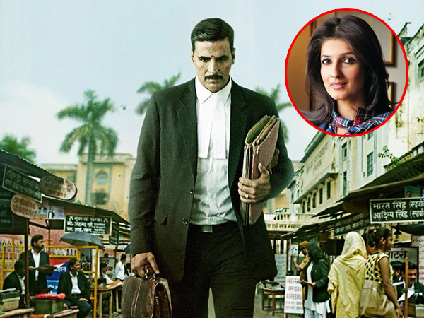 Akshay Kumar and Twinkle Khanna have a sweet tweet exchange over 'Jolly LL.B 2' trailer