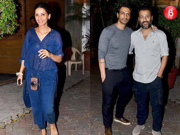 Arjun Rampal celebrates wife Mehr Jessia's birthday along with B-Town friends. VIEW PICS