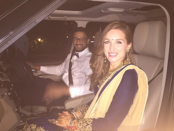Arunoday Singh and Lee Elton's wedding pictures are out and they are absolutely amazing!