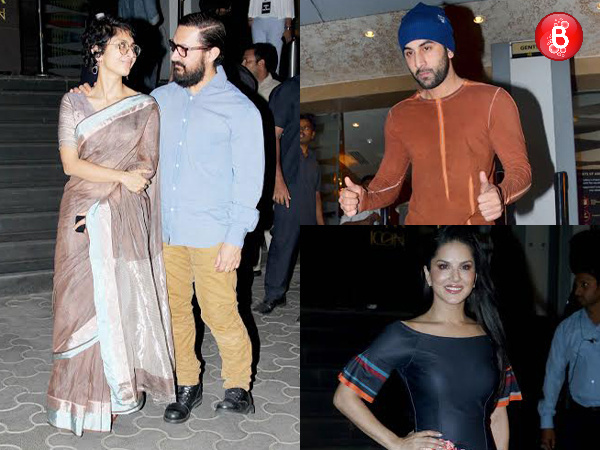 PICS: The special screening of Aamir Khan's 'Dangal' was a star-studded affair