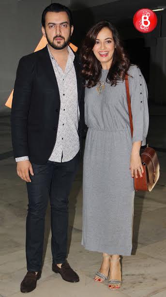 Dia Mirza with husband Sahil Sangha