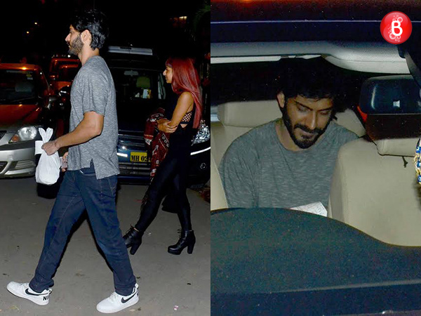 Who is that mystery girl snapped with Harshvardhan Kapoor post their dinner outing?