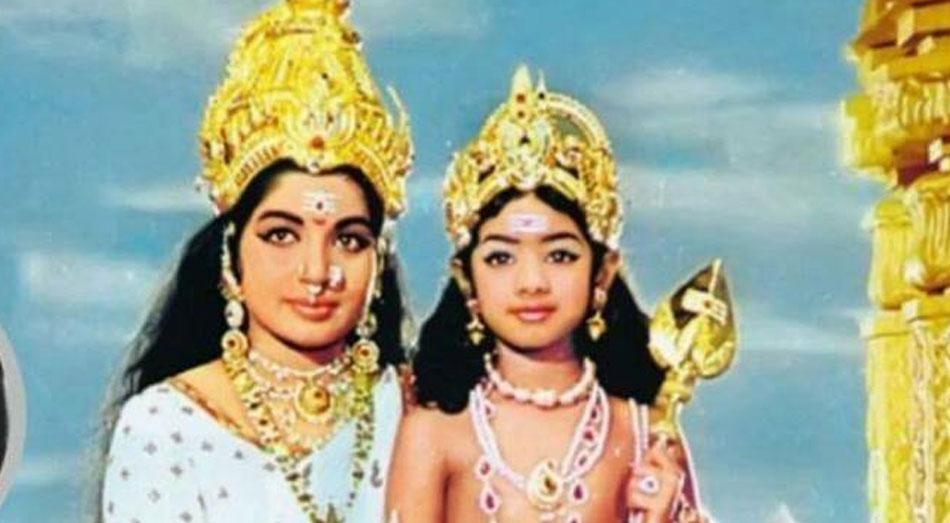 Jayalalithaa and Sridevi
