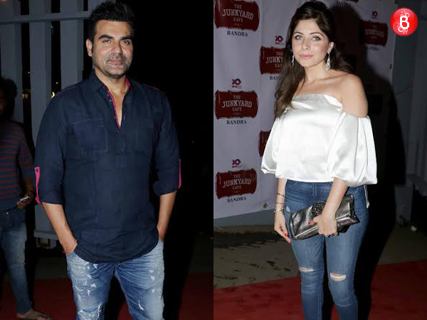 Arbaaz Khan, Kanika Kapoor and others at the launch of Junkyard Cafe in Mumbai! VIEW PICS