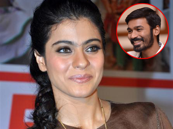 Kajol to team up with Dhanush to work in a Tamil film 'VIP 2'?