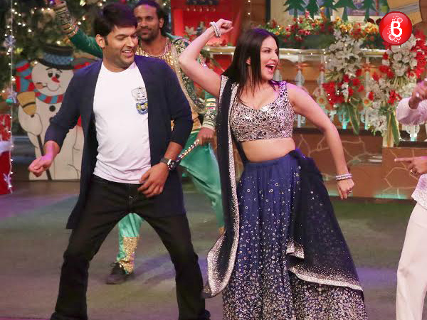 New 'Laila' Sunny Leone grooves on 'The Kapil Sharma Show'! VIEW PICS