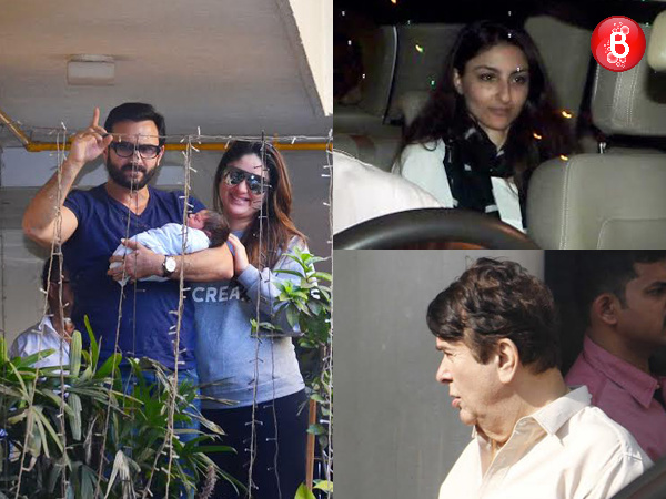 Family visits Kareena Kapoor Khan at home! View Pics